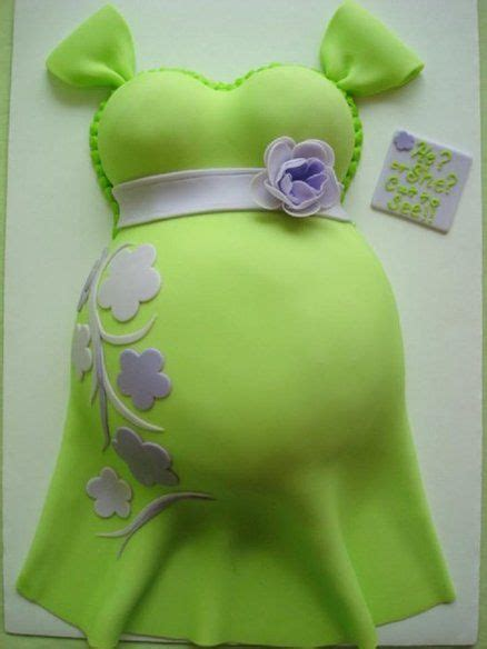 gender surprise belly cake cakes beautiful cakes