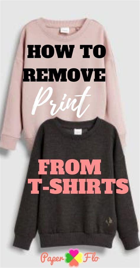 remove print   shirts cricut vinyl cleaning