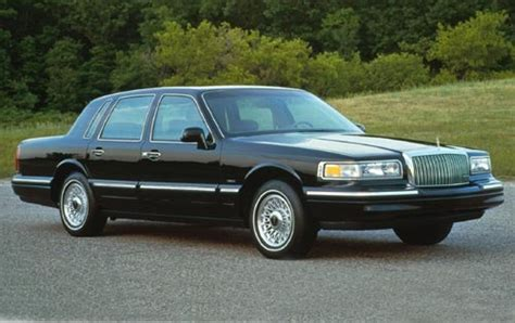 lincoln town car pricing  sale edmunds