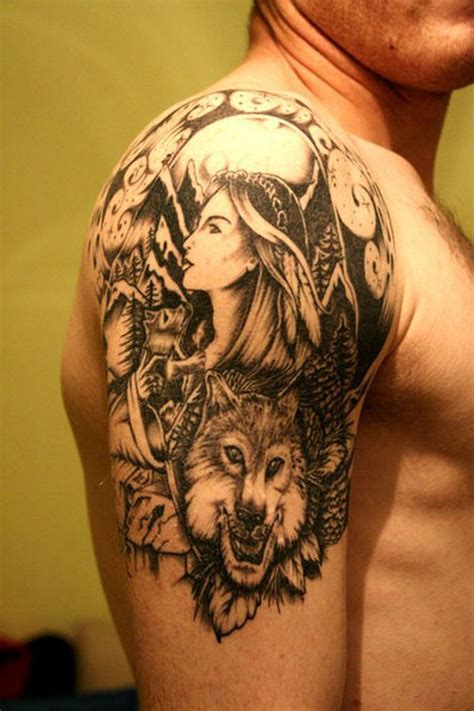 quarter sleeve tattoo designs ideas  meaning tattoos
