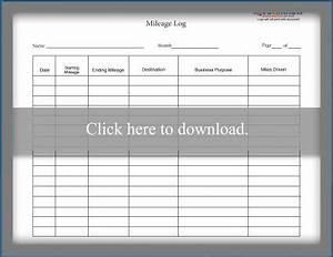 Trip Log Mileage Tracker Mileage Log Templates Lovetoknow