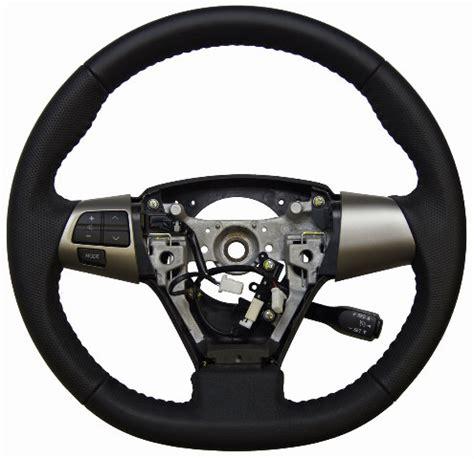 Toyota Matrix Steering Wheel Black Leather