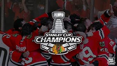 Blackhawks Chicago Stanley Cup Champions Nhl Background