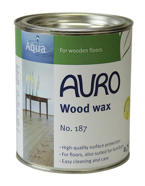 wood wax waxes auro colours for life