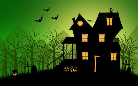Background Haunted House by Haunted House Wallpapers Wallpaper Cave