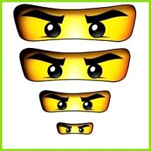 Ninjago augen ausdrucken pdf / ninjago malvorlagen augen anleitung : 7 Ninjago Augen Vorlage - MelTemplates - MelTemplates