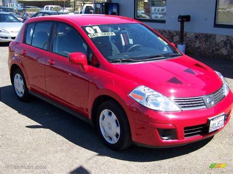 red nissan versa 2007 red alert nissan versa s 8304422 gtcarlot com