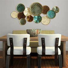 Stratton Home Decor Multi Metal Plate Wall Decors01657