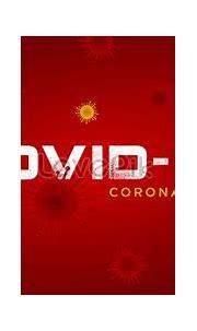 Covid-19 coronavirus iconic blue background backgrounds ...