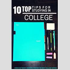 The Best Study Tips For College  Mostly Morgan