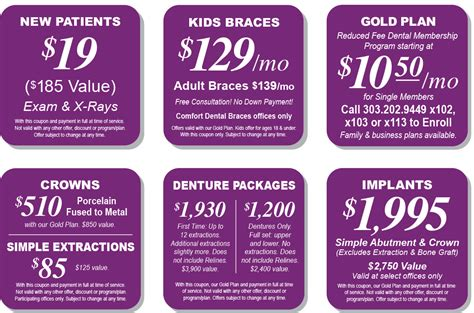 comfort dental gold plan comfort dental coupons arizona comfort dental