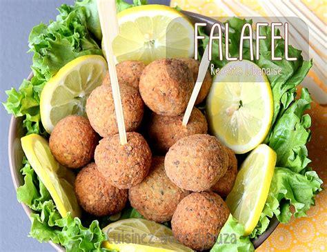 falafels libanaises aux pois chiches recettes faciles recettes rapides de djouza