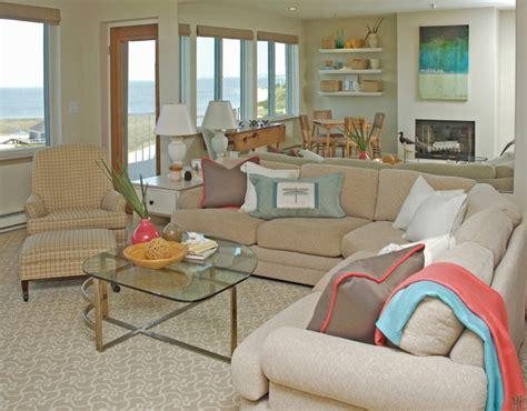 Cape Cod Living Room Design : Cape Cod Hurricane Restoration