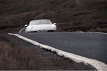 Porsche Animated Gifs Sports Amazing Bestanimations Rallye