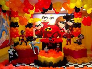 The incredibles decorations iron blog for These diy party decorations are incredible