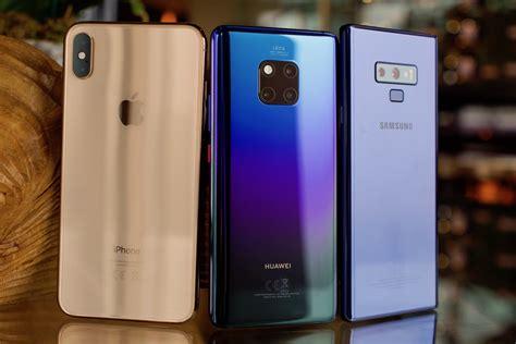 huawei mate  pro  iphone xs max  galaxy note