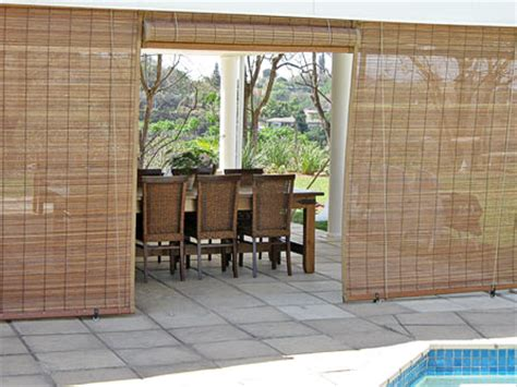amazing outdoor bamboo blinds curtain