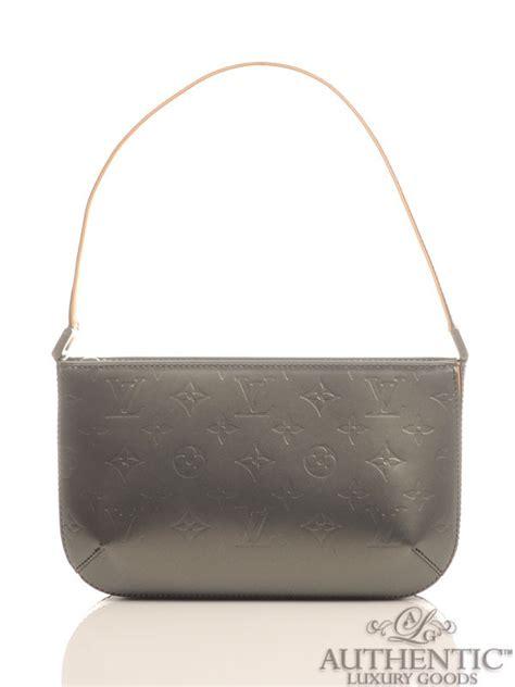 louis vuitton monogram cuir glace mat fowler baguette handbag louis vuitton monogram