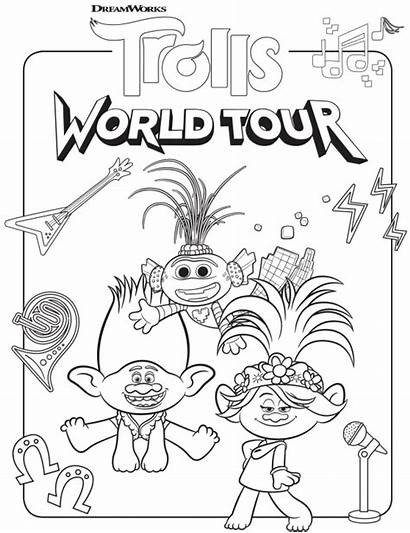 Trolls Tour Coloring Poppy Branch Right Quotes