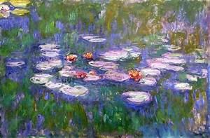 Water Lilies, 1916 - 1919 - Claude Monet - WikiArt.org