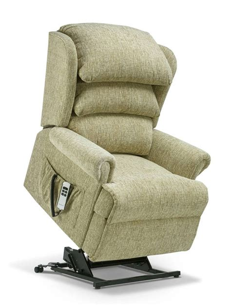 Rise Recliners by Sherborne Royale Single Motor Lift Rise Recliner