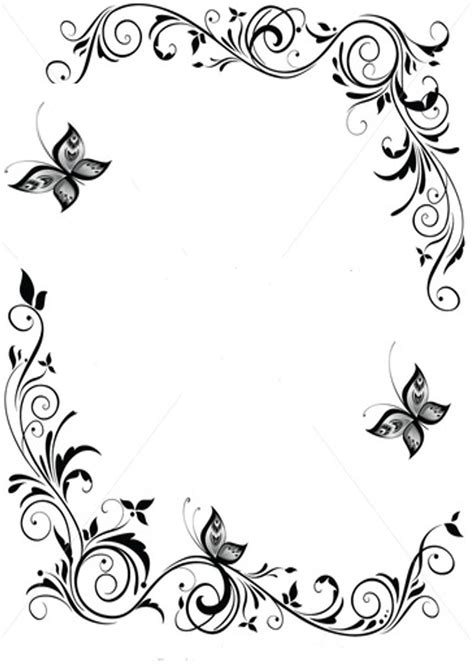 Galatians 6 10 Coloring Page Bluebells Class Picture Butterfly Borders Clipart Best