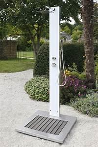 garten dusche tobago zum duschen mit kalt und warmwasser With französischer balkon mit garten warmwasser