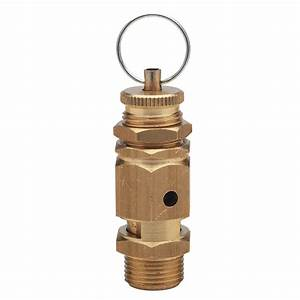 Brass Spring Safety Relief Valve