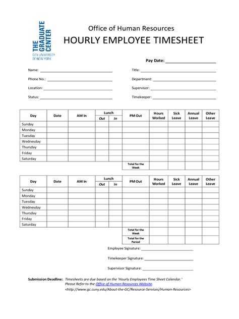 Hourly Employee Timesheet Template by Hourly Timesheet Template 2 Free Templates In Pdf Word
