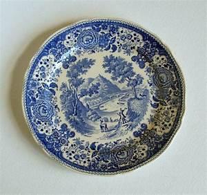 Villeroy Boch Berlin : antique villeroy boch salad plates burgenland blue set of 2 germany 1900 1909 glass ~ Frokenaadalensverden.com Haus und Dekorationen