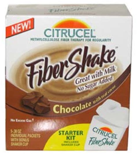 fiber in pill form citrucel chocolate fibershake starter kit the impulsive buy