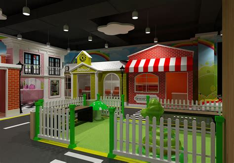 kids role play house mytwon indoor playground