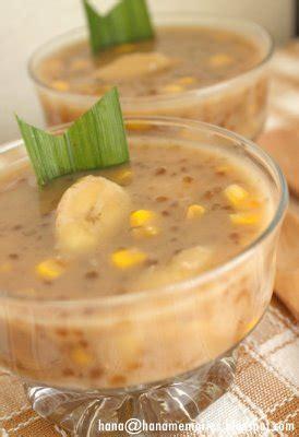 sweet recipes pengat pisang banana porridge malaysian