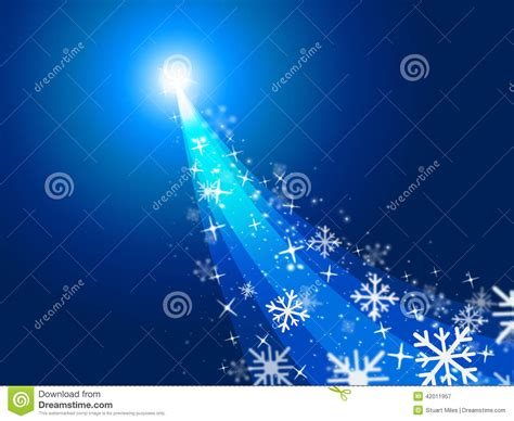 what do blue christmas lights mean shows merry and blazing stock illustration image 42011957