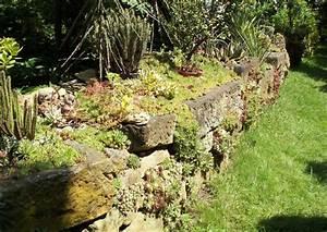 Steingarten Bilder Beispiele : steingarten trockenmauer in der anlag ~ Whattoseeinmadrid.com Haus und Dekorationen