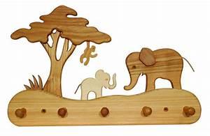 Kindergarderobe Selber Bauen : kindergarderobe elefant aus holz carelino spielzeug mit herz ~ Frokenaadalensverden.com Haus und Dekorationen