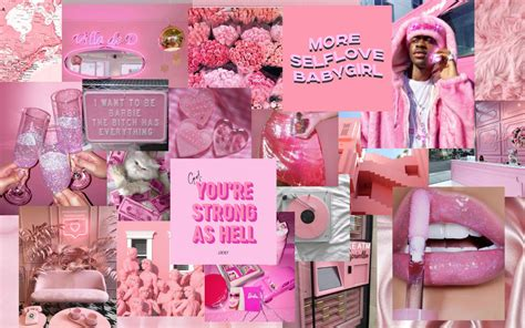 laptop pink aesthetic wallpapers