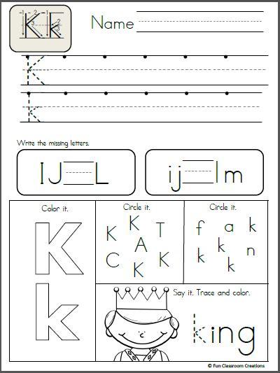 alphabet letter  writing practice madebyteachers