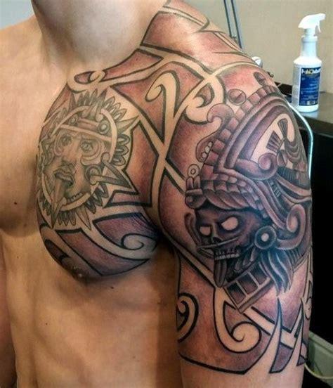 Las 33 mejores ideas de Tatuajes mayas y AZTECAS (hombre y