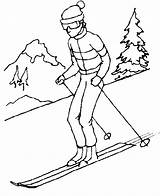 Clipart Skis Skiing Drawn Drawing Line Winter Sports Clip Cartoon Cliparts Webstockreview Library Glove Resolution Intramurals sketch template