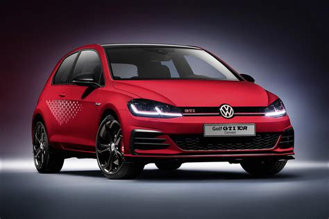 golf gti tcr official volkswagen golf gti tcr concept gtspirit