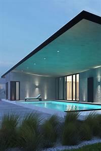 Eclairage Moderne : eclairage exterieur maison contemporaine eclairage exterieur maison moderne architecte ~ Farleysfitness.com Idées de Décoration