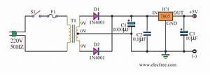 12v Dc To 9v Dc Ic Circuit