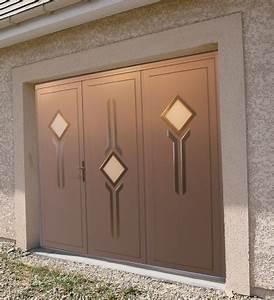 porte de garage battante acier cyb stores With porte garage acier