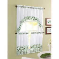 chf you morning rooster tier curtain panel set walmart com