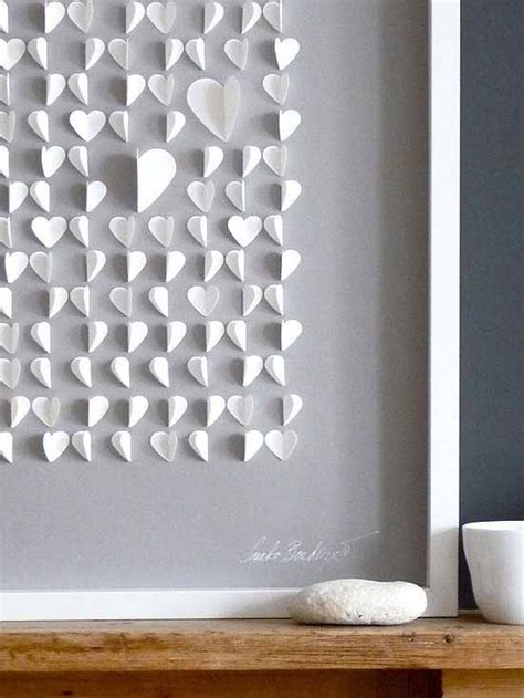 stunning heart shaped diy wall decor  valentines days