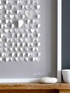 Stunning heart shaped diy wall decor for valentines days