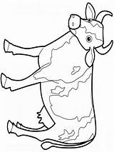 Cow Coloring Pages Printable Animals Adults Colors Children Clipartmag Mycoloring sketch template