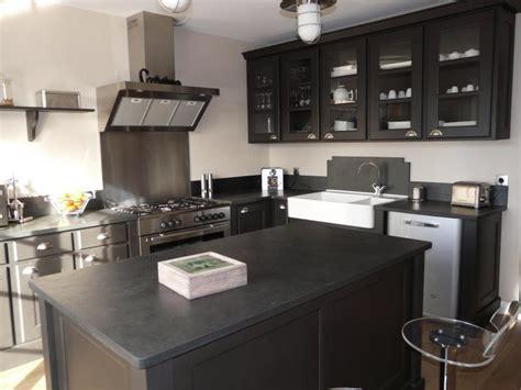 cuisine gris ardoise deco cuisine gris plan de travail ardoise solutions pour