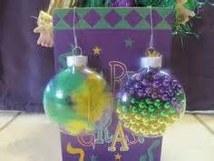 Mardi Gras Centerpiece Idea